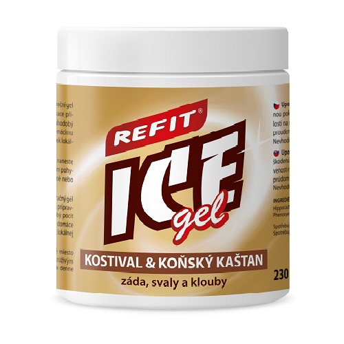 Refit Ice gel kostival+kaštan 230 ml