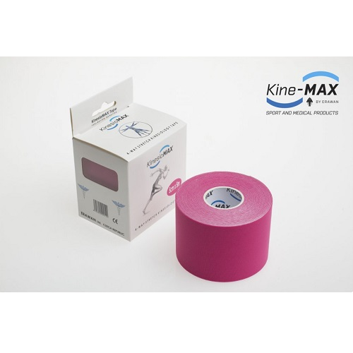 Kine-MAX 4WAY Stretch růžový 5cm x 5 m